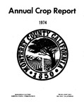 1974, Monterey County Crop Report.