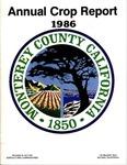 1986, Monterey County Crop Report.