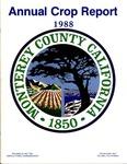 1988, Monterey County Crop Report.