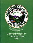 2001, Monterey County Crop Report.