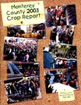2003, Monterey County Crop Report