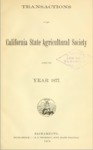 1878 - Report of the California State Agricultural Society for 1877