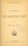 1880 - Report of the California State Agricultural Society for 1879