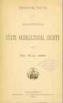 1881 - Report of the California State Agricultural Society for 1880