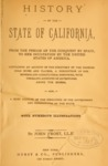 1881 - History of the state of California from the Period of the Conquest by Spain to Her Occupation by the United States, John Frost