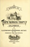 1883 - History of Santa Barbara County