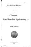 1914 - Report of the State Agricultural Society for the Year 1913