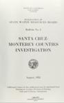1953 - Santa Cruz-Monterey Counties Investigation - Bulletin No. 5