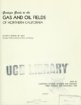 1962 - Geologic Guide to Gas and Oil Fields of Northern California
