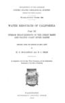 1913 - Water Resources of California, Part III, Water-Supply Paper 300