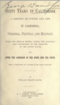 1889 - Sixty Years in California, William Heath Davis