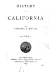 1885 - History of California, Volume 1 Theodore Henry Hittell