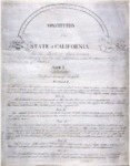 1849 - California Constitution