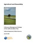 2016 - Agricultural Lands Stewardship