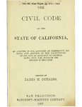 1872 - Appropriation of Water in California, Civ. Code, §§ 1410 – 1422.