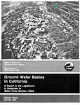1980 - Department of Water Resources Bulletin 118-80, Groundwater Basins in California
