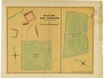 Mission San Fernando [8 tracts (church property)], Diseño 609, GLO No. 412, Los Angeles County, and associated historical documents.