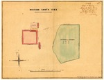 Mission Santa Ynéz or Inéz, Lands of; Diseños 609, GLO 368, Santa Barbara County, and associated documents