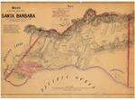 Santa Barbara Pueblo Lands, Diseños 543, GLO 386, Santa Barbara County, and associated historical documents