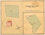 Diseños map and associated historical documents for Mission San Juan Bautista, GLO No. 240.
