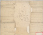 Mission Dolores, Lot in [Valencia], Diseño 34, GLO No. 554, San Francisco County, and associated historical documents.