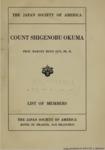 Japanese Pamphlets, Volume I, 1906-1914