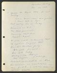 Executive Meeting of the Monterey Peninsula Japanese American Citizens League, November 14, 1938
