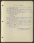 Executive Meeting of the Monterey Peninsula Japanese American Citizens League, April 1940