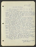 Executive Meeting of the Monterey Peninsula Japanese American Citizens League, June 11, 1940