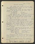 Executive Meeting of the Monterey Peninsula Japanese American Citizens League, October 17, 1940