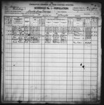 Twelfth Census of the United States: 1900, Schedule No. 1--Population, California, Santa Cruz (Part 3) by United States. Bureau of the Census