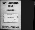 Thirteenth Census of the United States: 1910--Population, California, Monterey (Part 1) by United States. Bureau of the Census