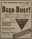 Beer Bust at Lighthouse