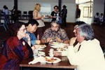 Founding Faculty Members Eating Lunch Together by Steve Zmak