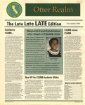 Otter Realm, November 1996 by California State University, Monterey Bay