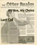 Otter Realm, March 1, 2000, Vol. 5 No. 11 by California State University, Monterey Bay
