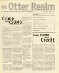 Otter Realm, May 3, 2000, Vol. 5 No. 15 by California State University, Monterey Bay
