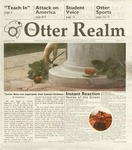 Otter Realm, September 26, 2001, Vol. 7 No. 1 by California State University, Monterey Bay