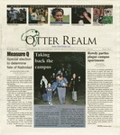 Otter Realm, November 20, 2003, Vol. 9 No. 5 by California State University, Monterey Bay