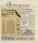 Otter Realm, December 8, 2005, Vol. 12 No. 6 by California State University, Monterey Bay