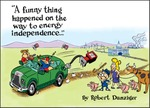 A Funny Thing Happened on the Way to Energy Independence by Robert Danziger