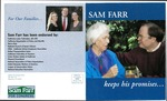 Sam Farr Keeps His Promises