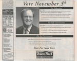 Vote November 5th by Friends of Farr