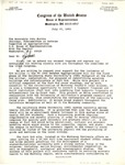 Letter from Sam Farr and Ronald Dellums to John Murtha, July 15, 1993 by Ronald Dellums and Sam Farr