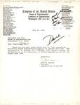Letter from John Murtha to Sam Farr, July 20, 1993