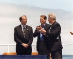 Sam Farr Standing with Al Gore and Bill Clinton at the National Oceans Conference in Monterey, California