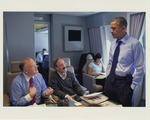Sam Farr Speaking with Barack Obama on Air Force One