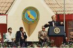 Sam Farr Speaking at the CSUMB Inauguration Ceremony