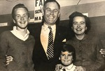 A Young Sam Farr with his Father, Mother, and Sister