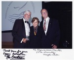 Sam Farr with Sylvia Earle and Jean-Michel Cousteau